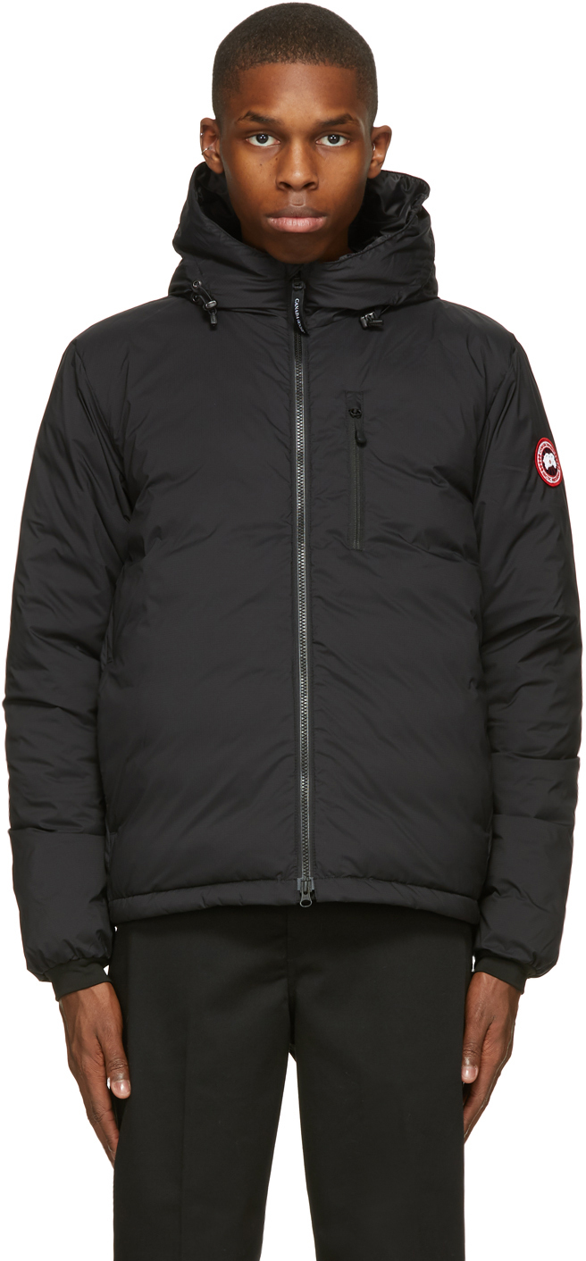 Black Down Lodge Jacket