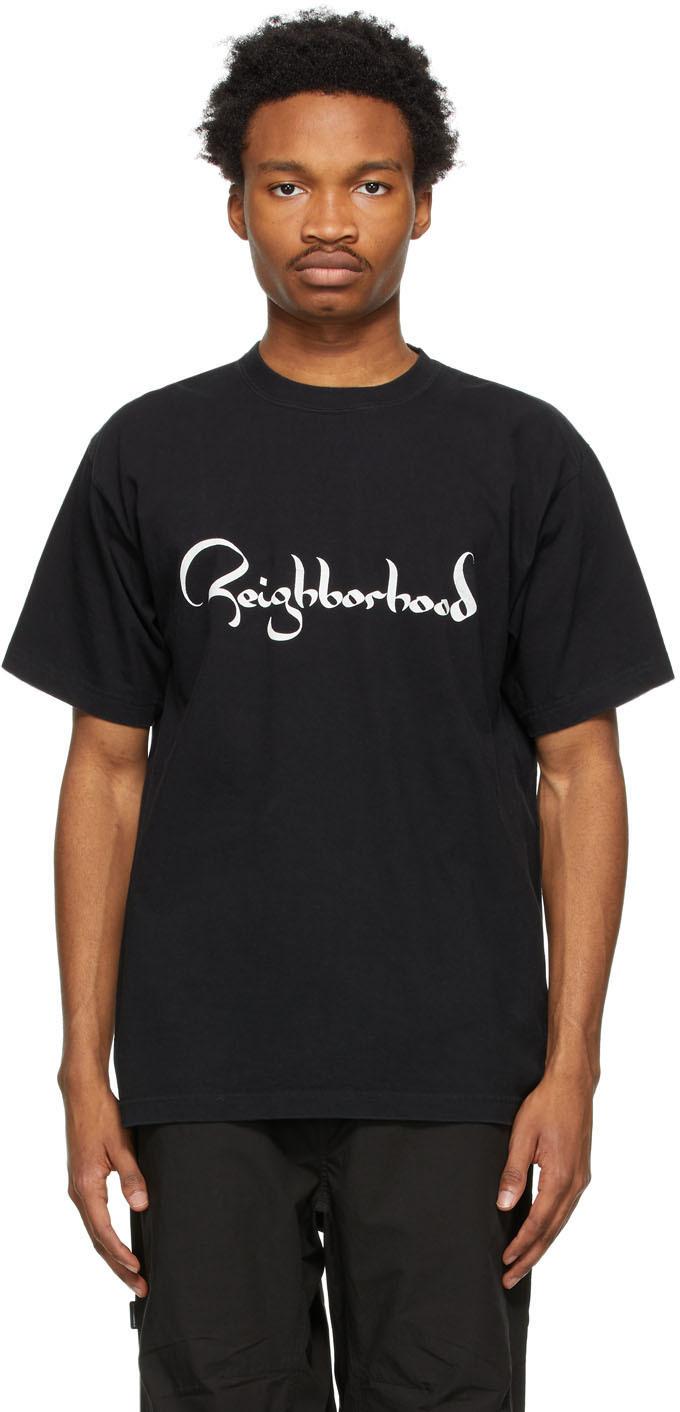 Neighborhood 黑色 Zild T 恤