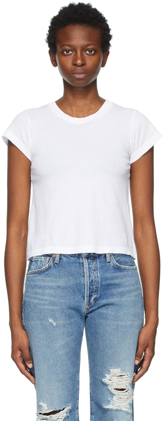 White Slim Juliette T-Shirt