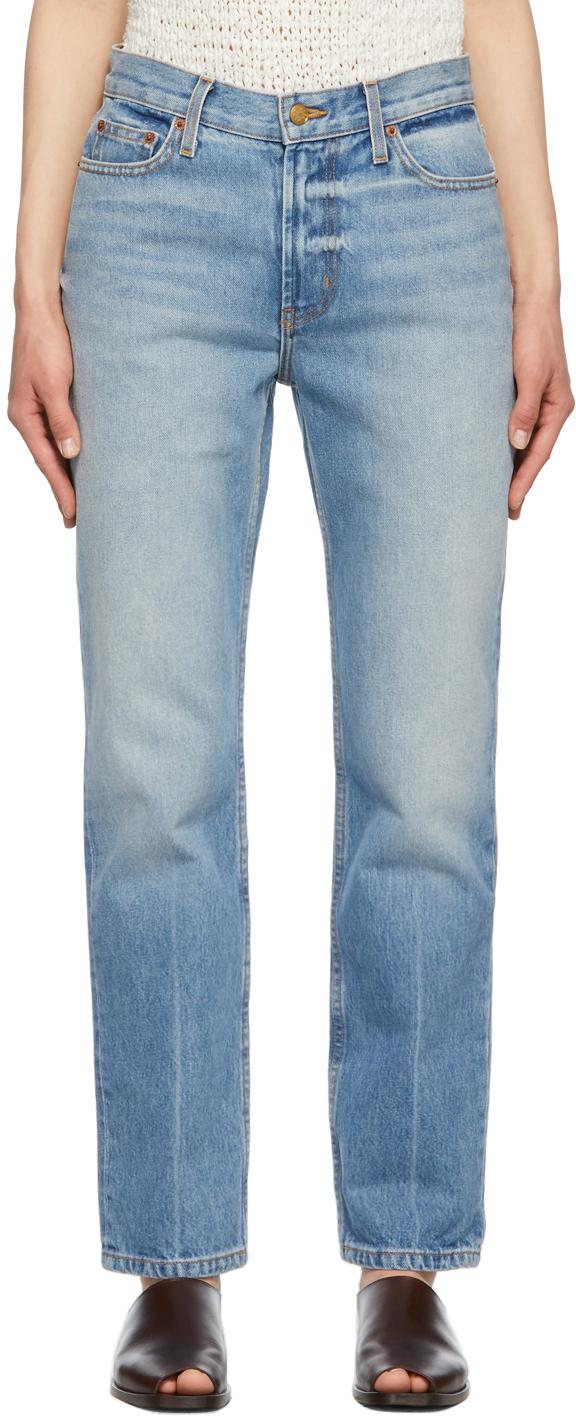 Blue Arts Straight Jeans