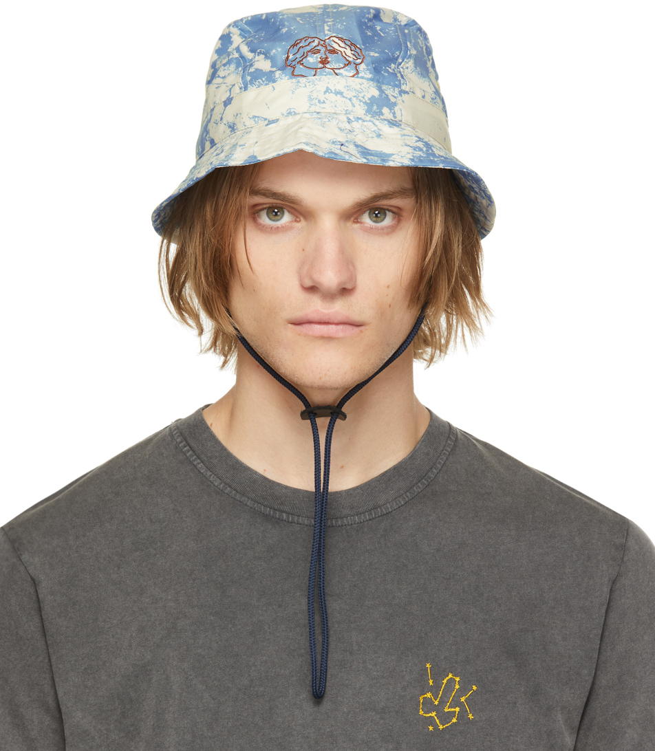 Blue Night Of The Giving Head Bucket Hat