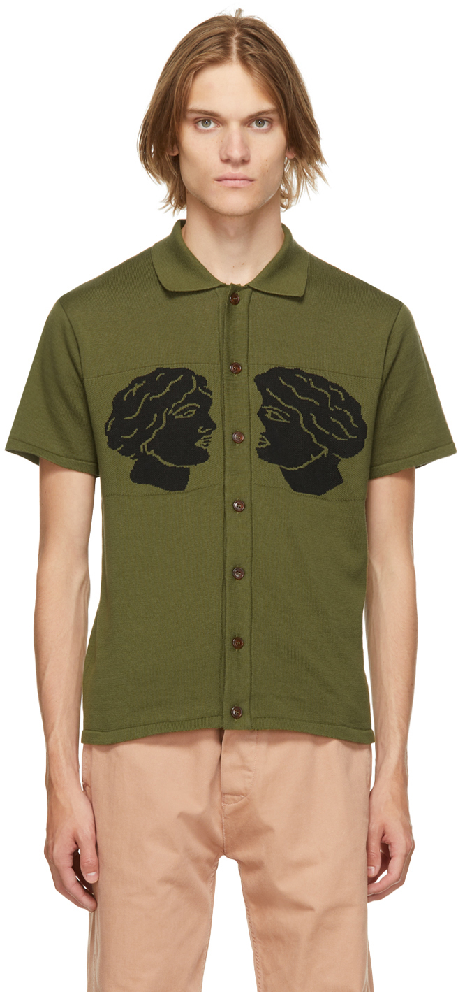 Green 'Cum & Cummer' Short Sleeve Shirt