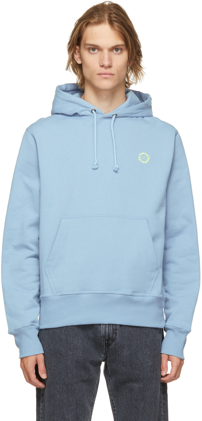 Blue 'Angry For More' Hoodie