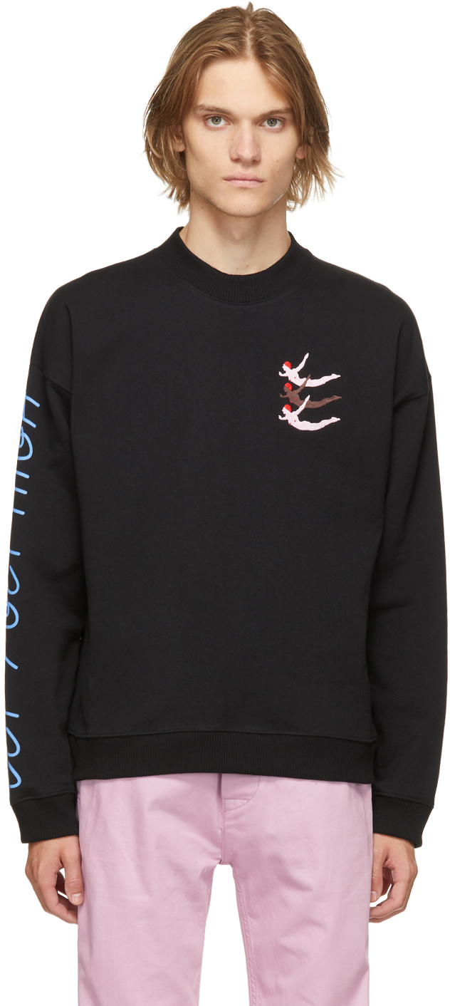 Black 'Let's Get High' Sweatshirt