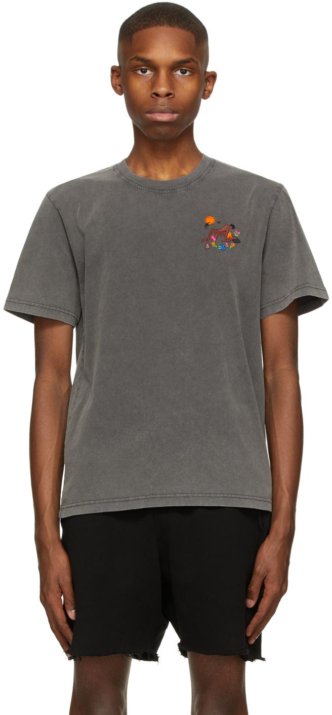 Grey Beg Of Roses T-Shirt