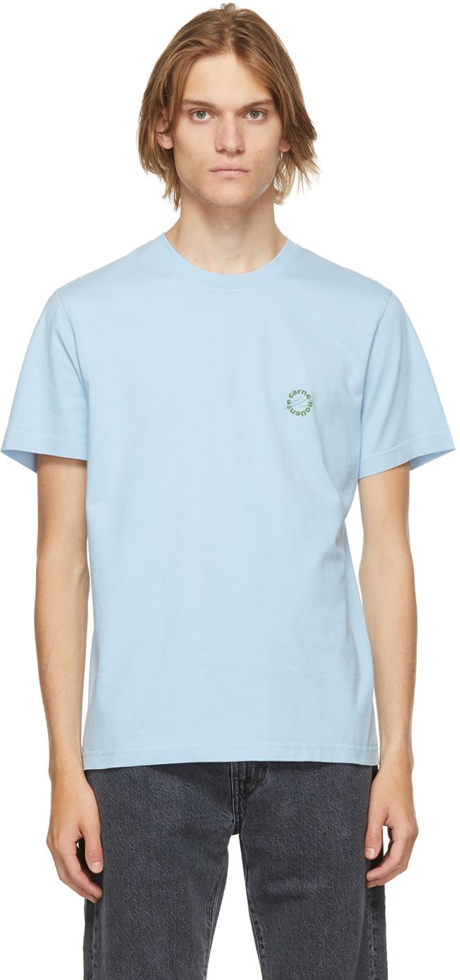 Blue Organic Cotton 'Have A Fruit' T-Shirt