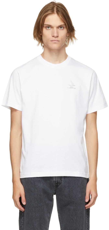 White Organic Cotton 'Squirt Bay' T-Shirt
