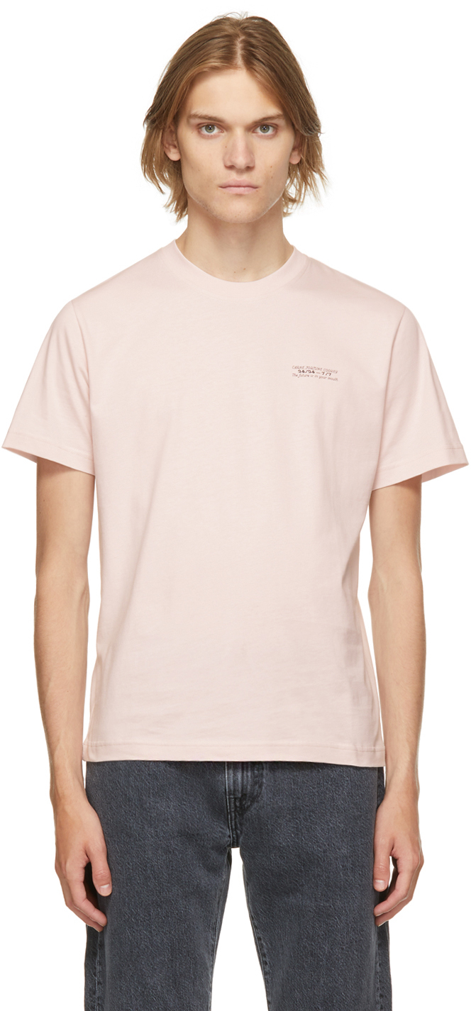 Carne Bollente Pink 'The Future Is In Your Mouth' T-Shirt