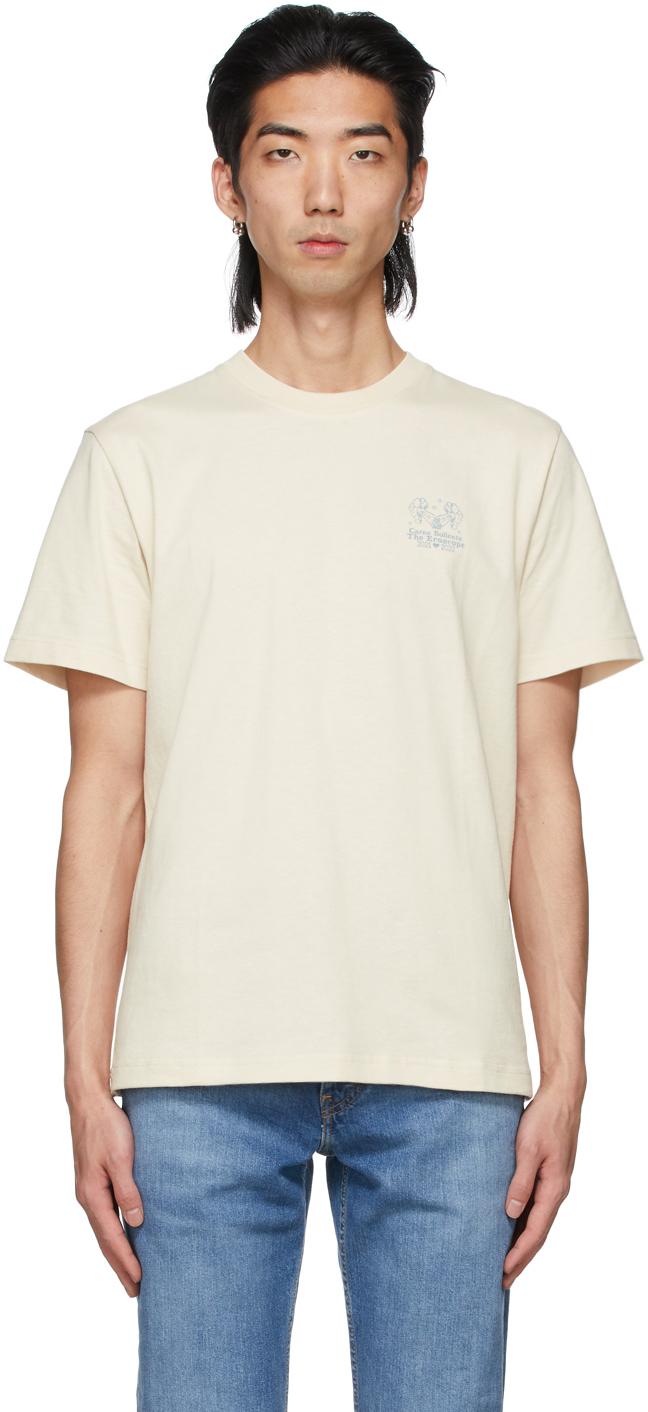 Carne Bollente Beige Eroscope Gemini T-Shirt