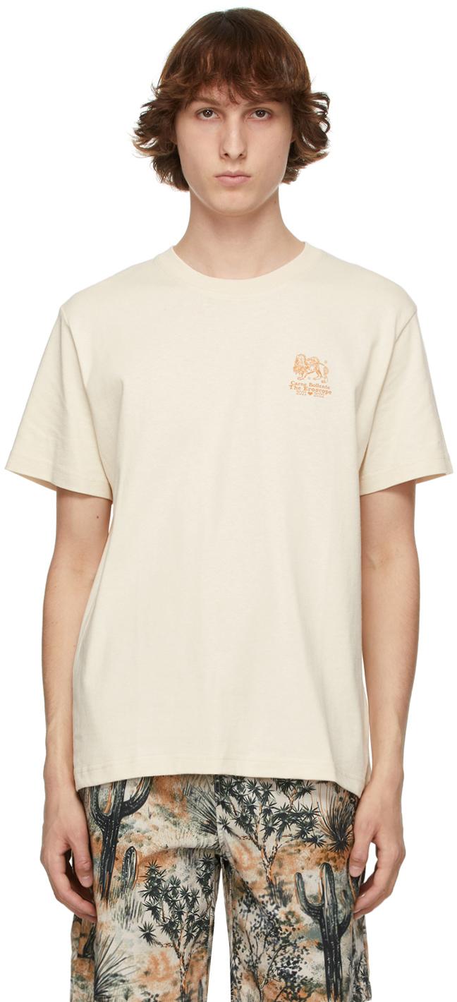 Beige 'Leo' T-Shirt