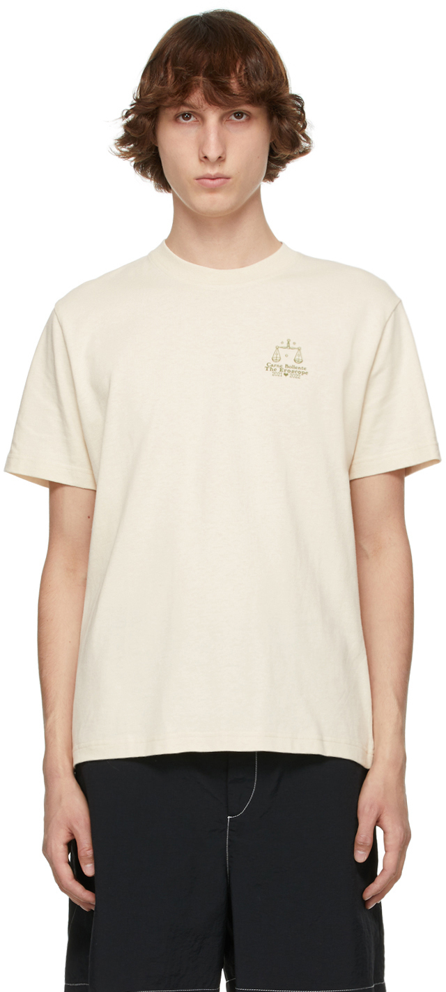 Carne Bollente Beige 'Libra' T-Shirt