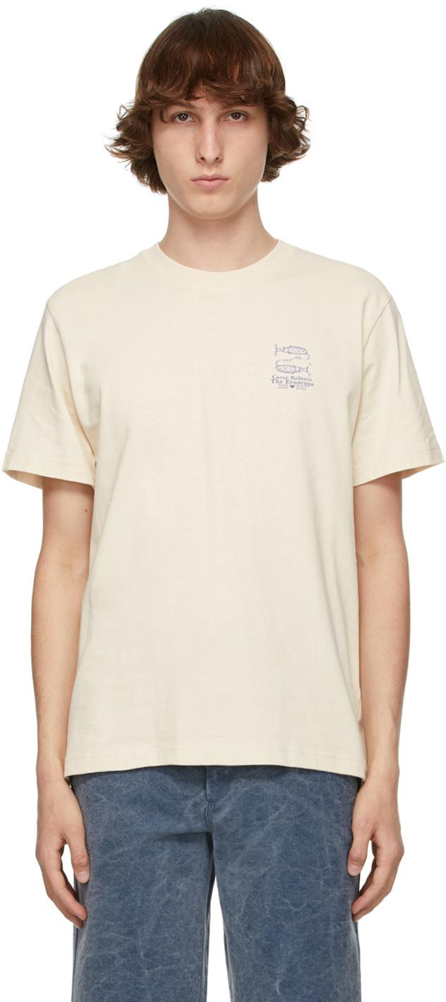 Beige 'Pisces' T-Shirt