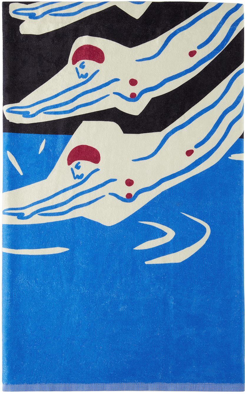 Black & Blue Into The Squirt Towel