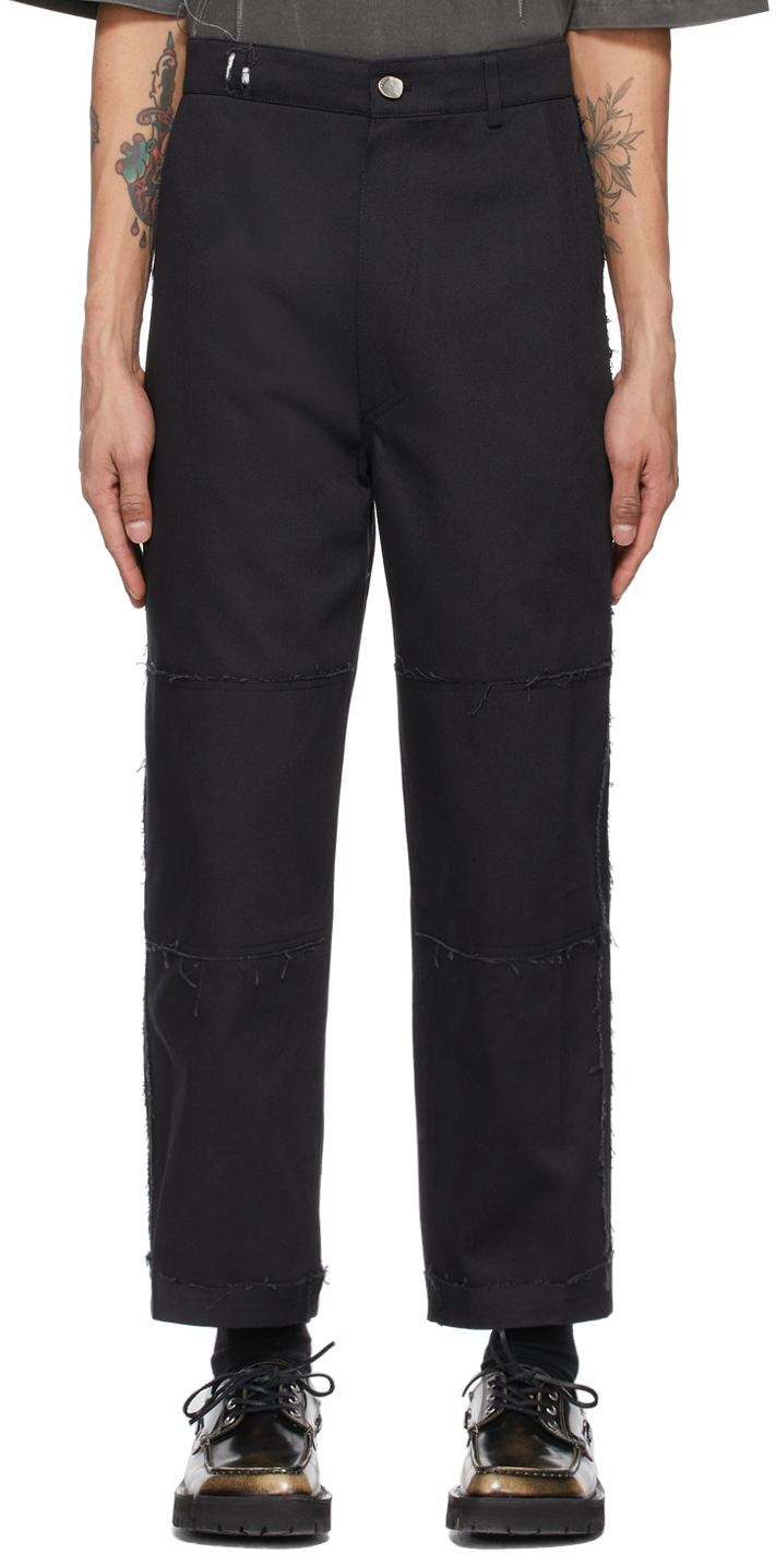 Black Kerly Trousers