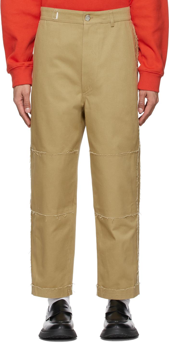 Beige Kerly Trousers