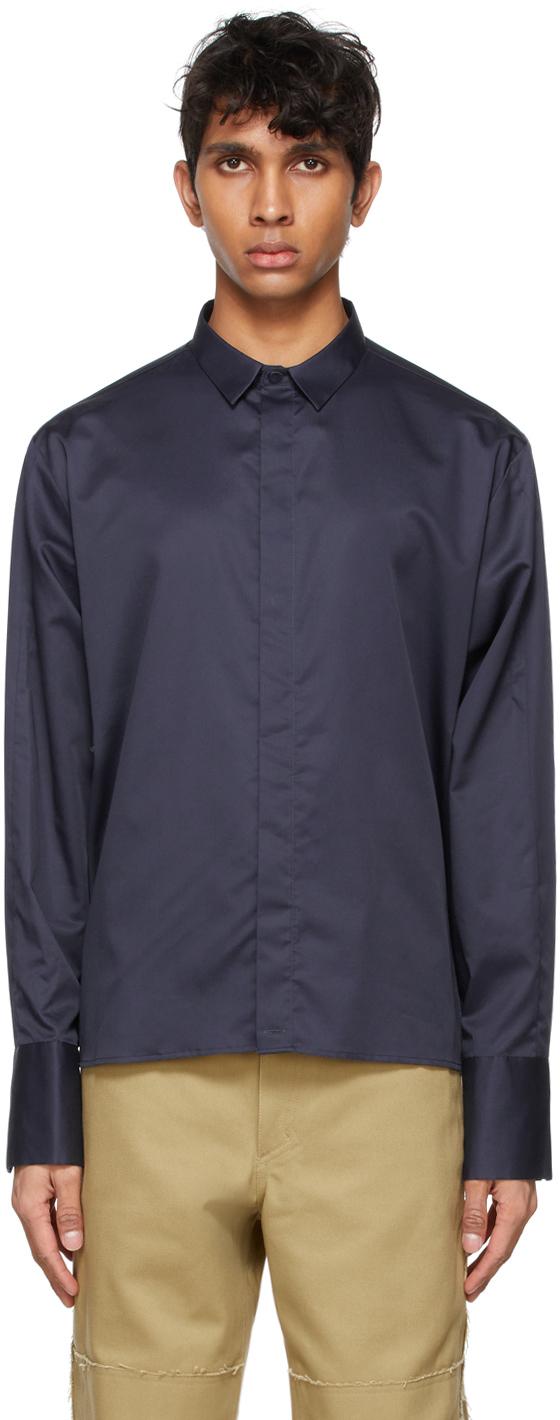 Navy Croll Shirt