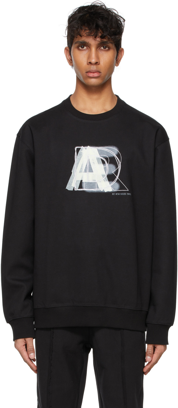Black Layer Logo Sweatshirt