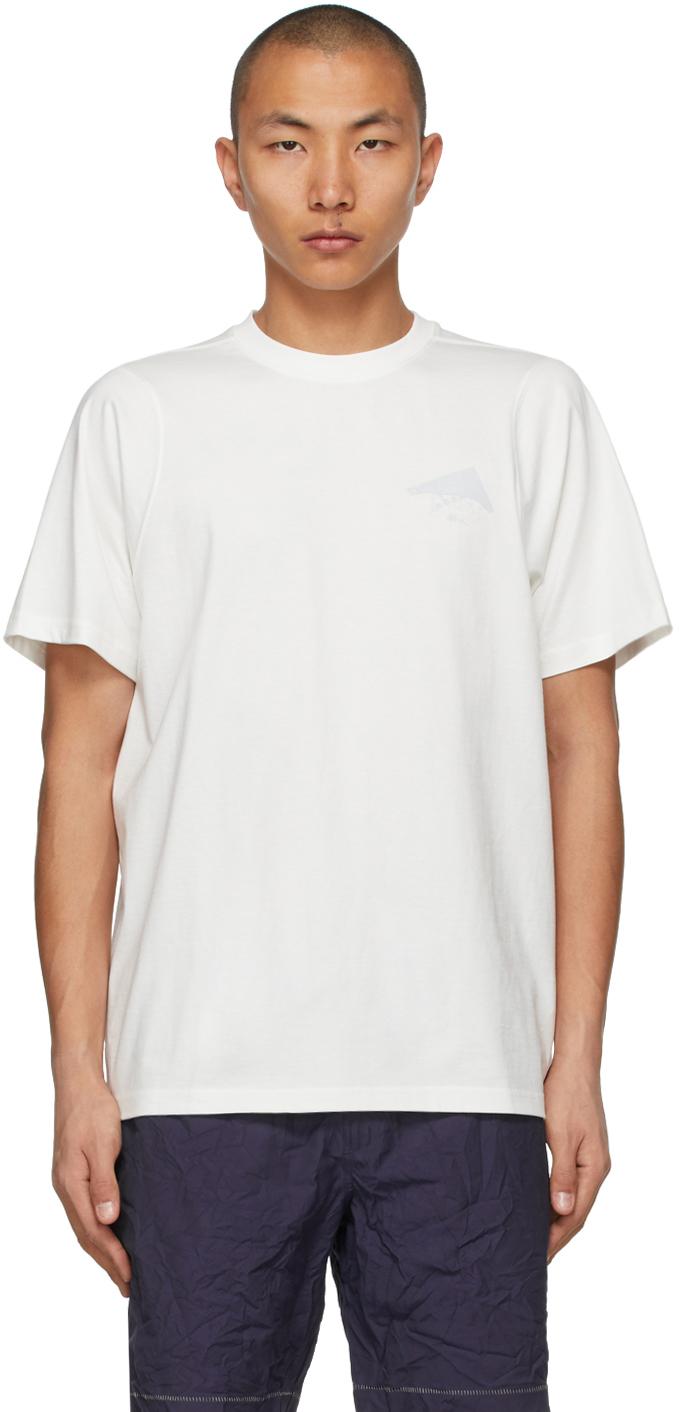 White Bonded Logo T-Shirt