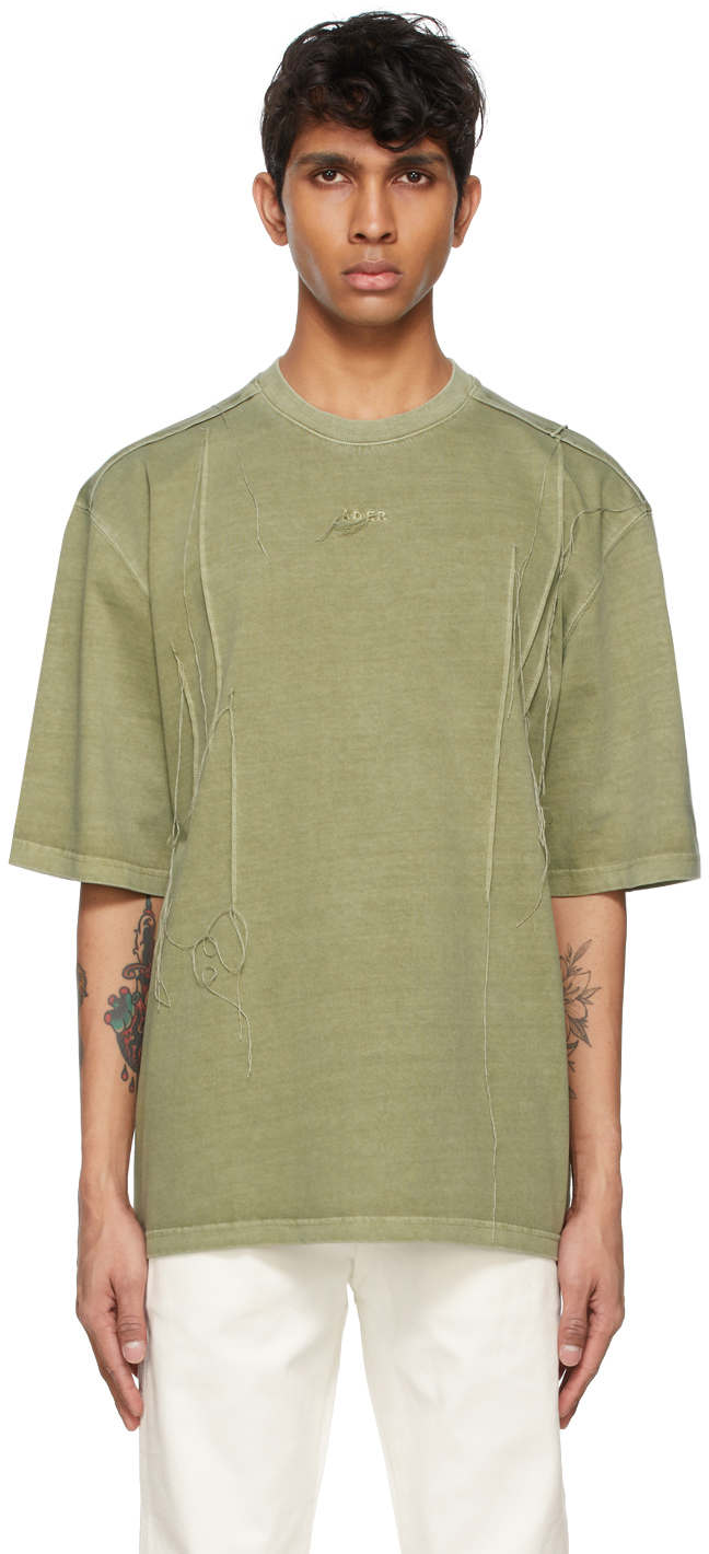 Khaki Needle Logo T-Shirt
