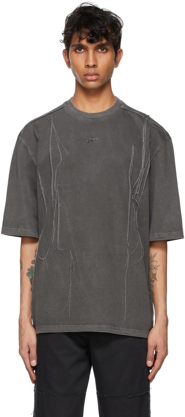 Grey Needle Logo T-Shirt