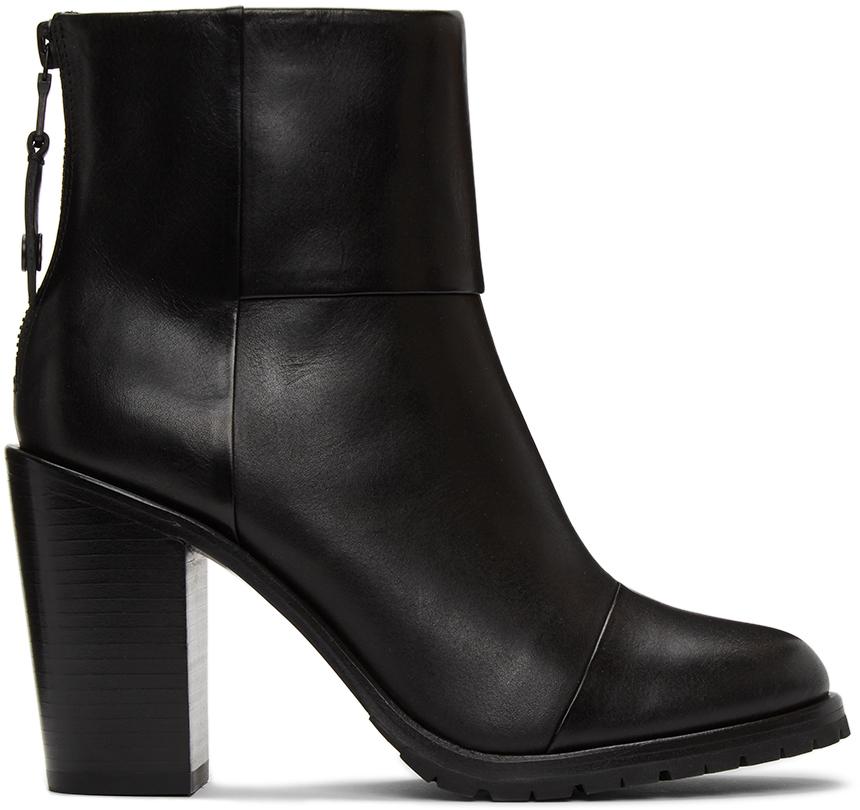 Rag & Bone 黑色 Newbury 2.0 踝靴