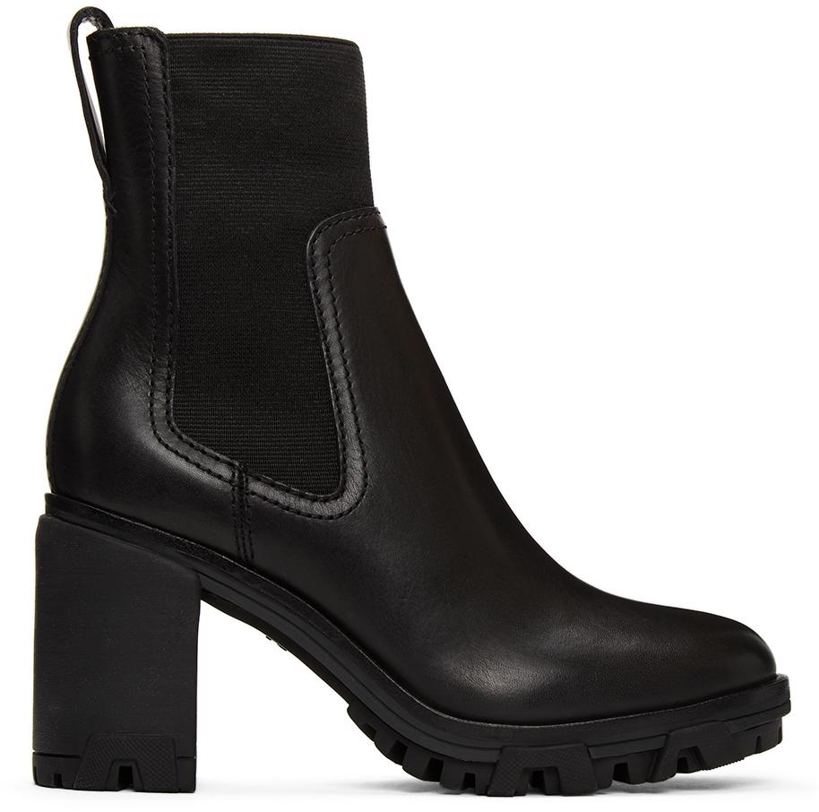 Rag & Bone 黑色 Shiloh 踝靴