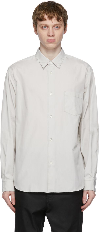 Grey Broadcloth Shirt