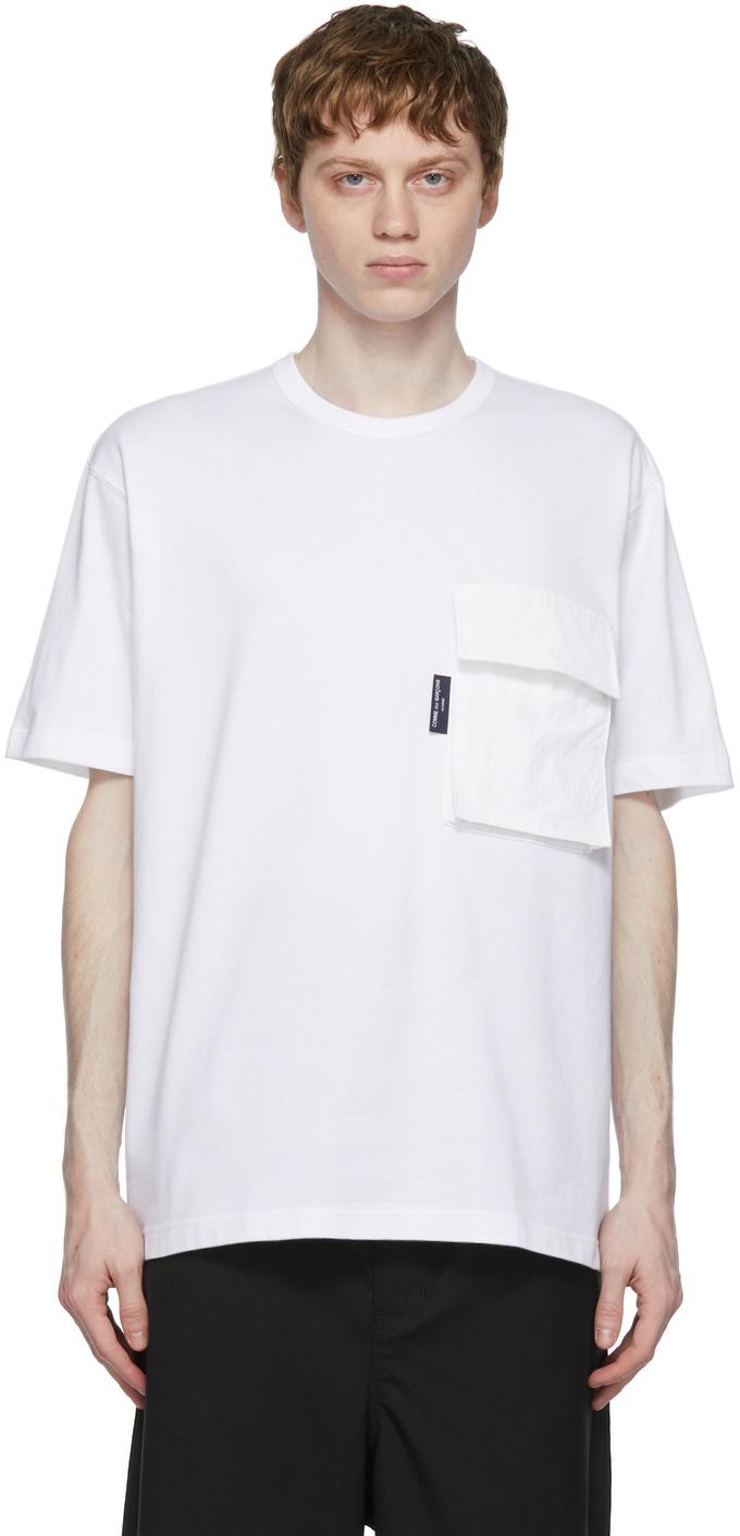 White Flap Pocket T-Shirt