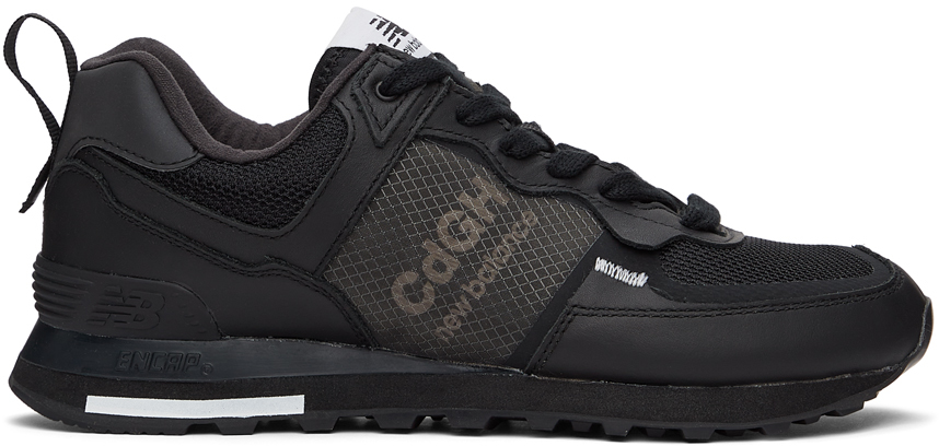 Black New Balance Edition 574 Sneakers