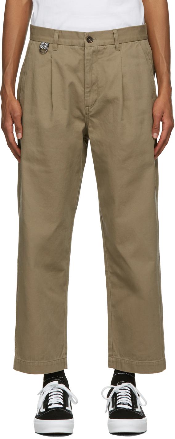 Double Rainbouu Khaki Paradise Trousers