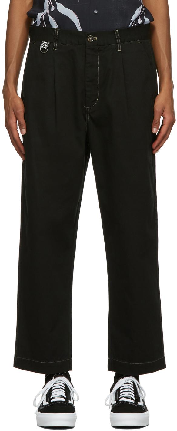 Black Paradise Trousers