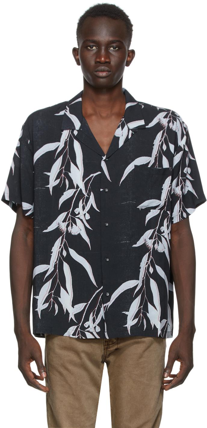 Black Summer Short Sleeve Shirt