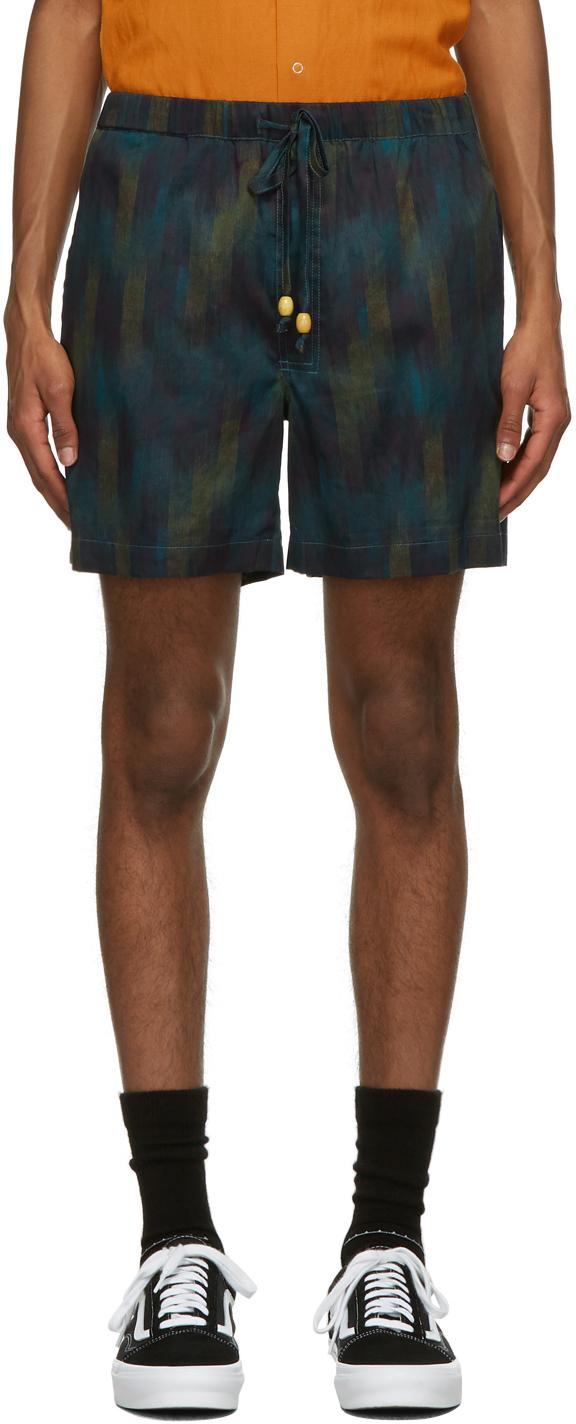 Double Rainbouu Multicolor Day Break Shorts