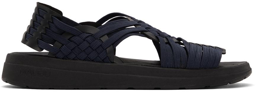 Navy & Black Canyon Sandals