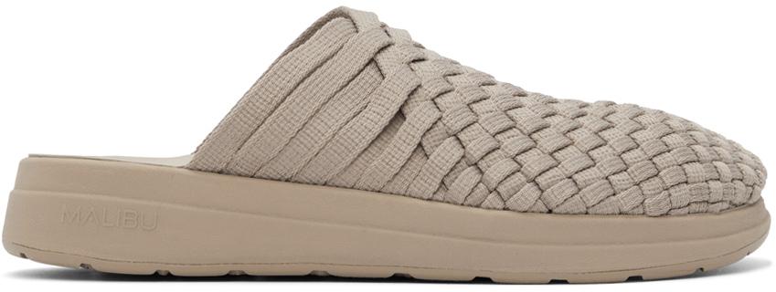 Taupe Nylon Colony Sandals