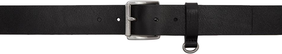 Black Gabi Loop Belt