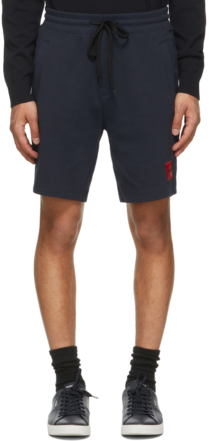 Navy Diz212 Shorts