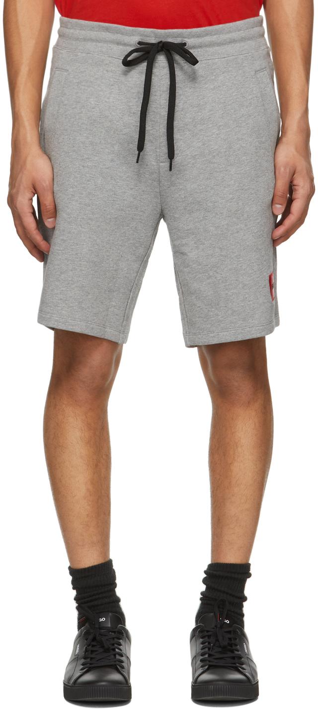 Grey Diz212 Shorts