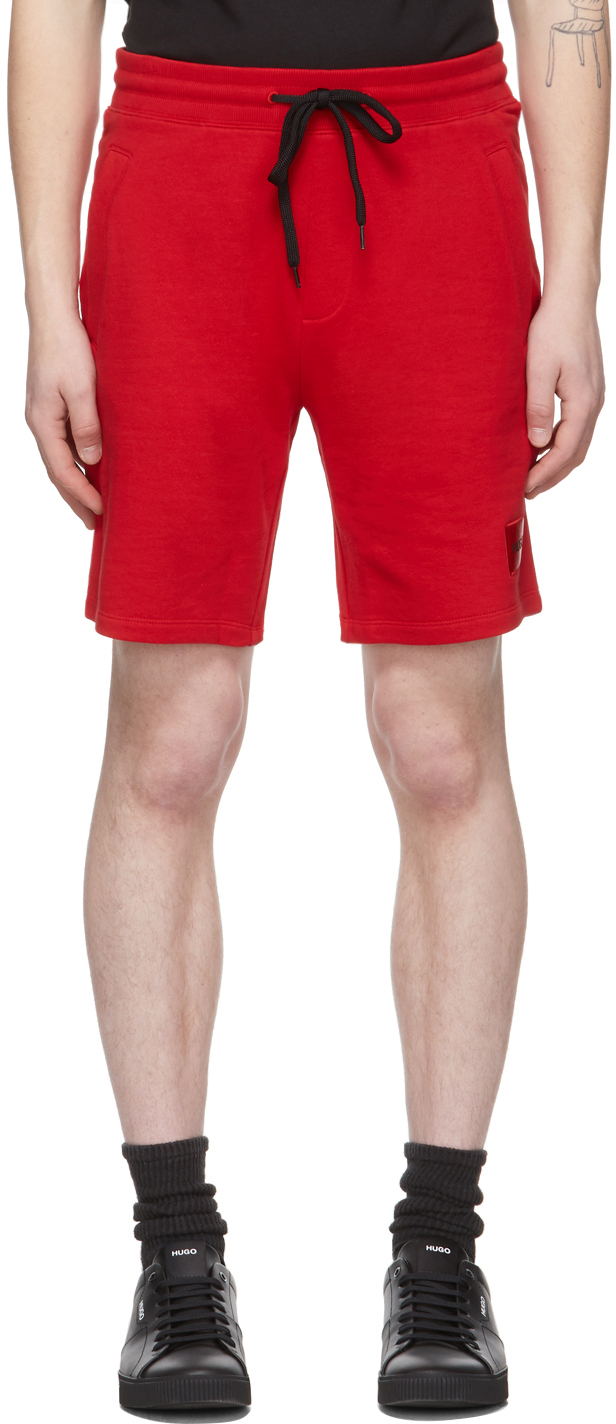 Red Diz212 Shorts