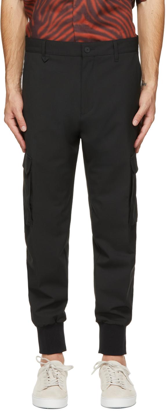 Black Glavin211 Cargo Pants