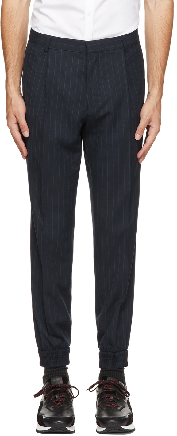 Navy Fento212 Trousers