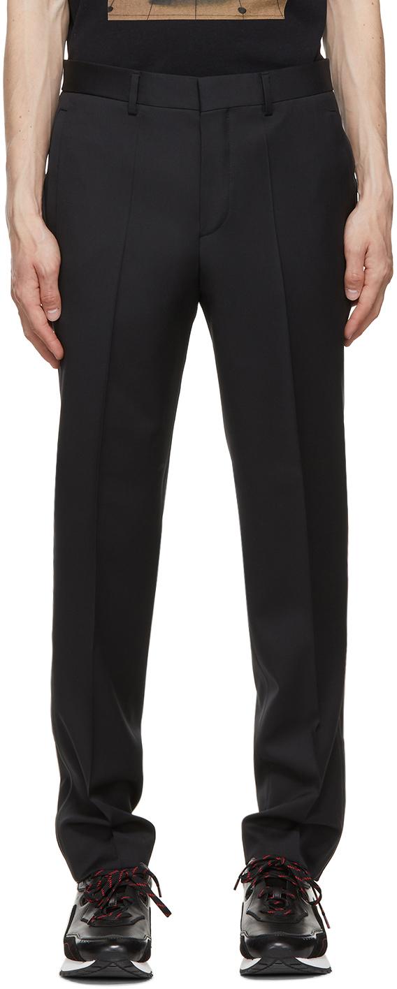 Black Faruto M&M Trousers