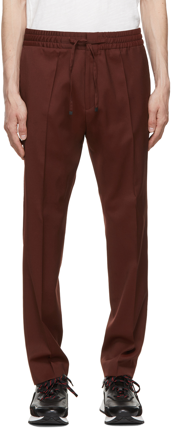 Red Howard M&M Trousers