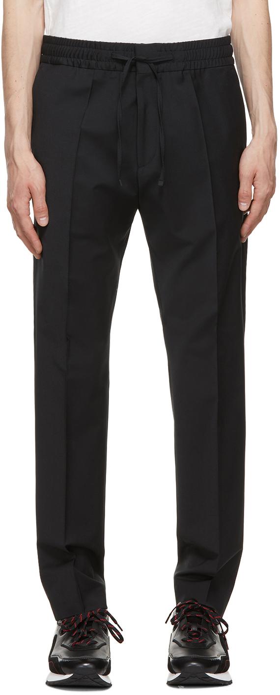 Black Howard M&M Trousers