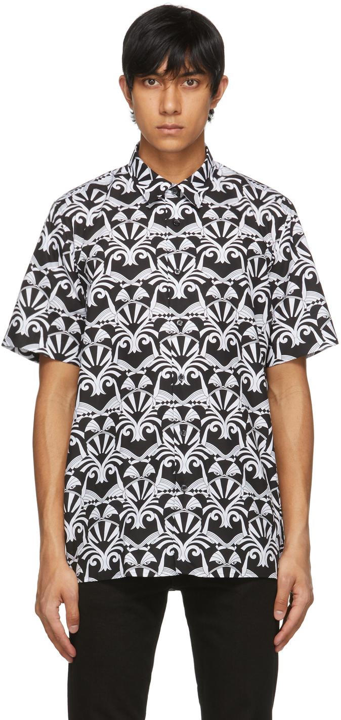 Black & White Ebor Short Sleeve Shirt