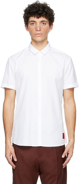 White Empson Short Sleeve Shirt