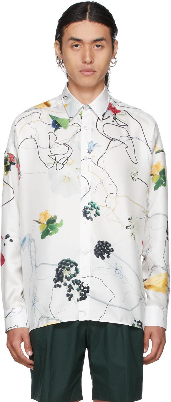 White Floral Modena Shirt