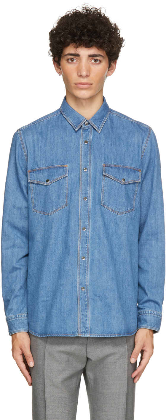 Blue Denim Epaz Shirt
