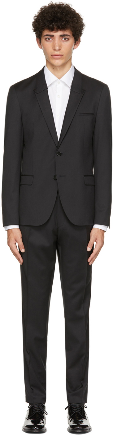 Black Slim-Fit Suit