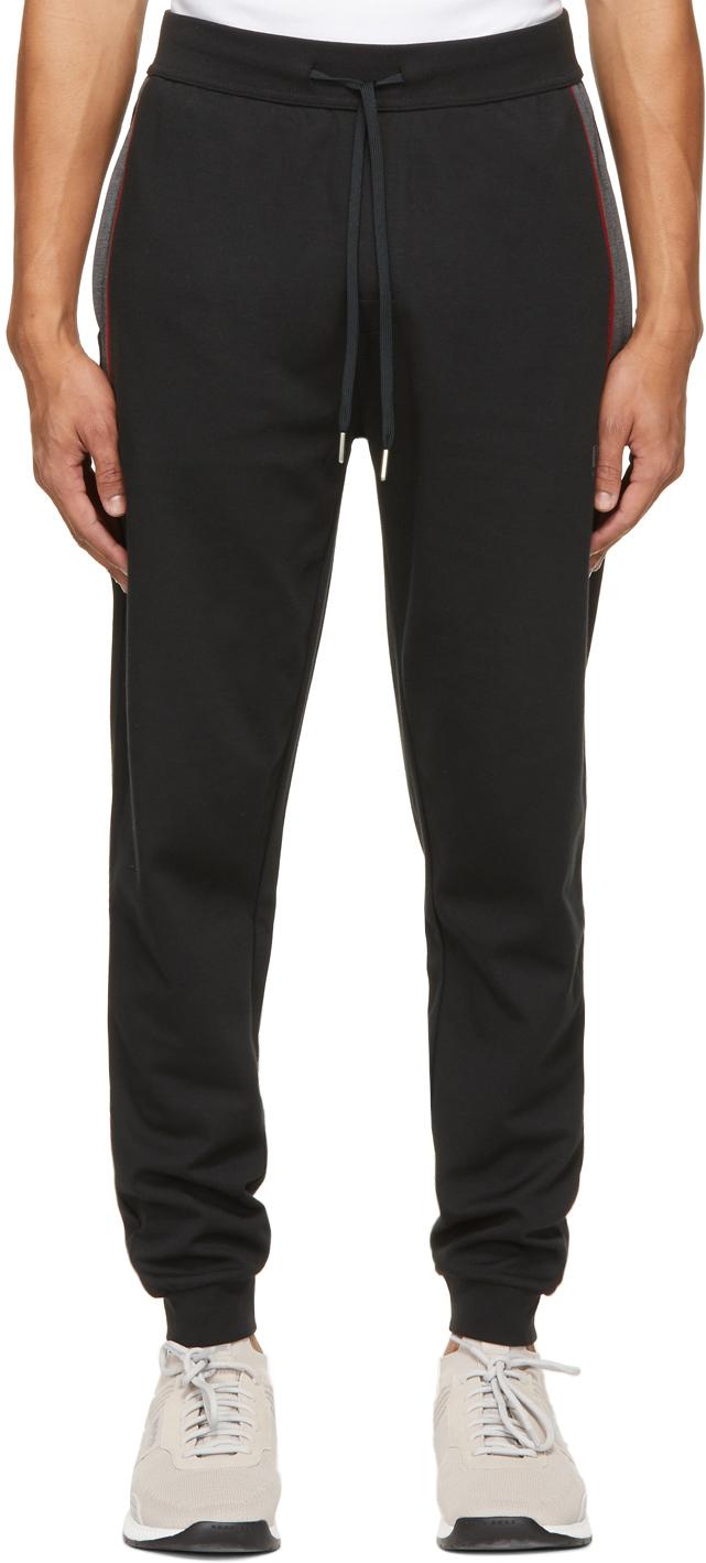 Black Tracksuit Lounge Pants